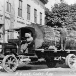 Kenworth logging truck