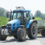 Sárosi Gyula - Landini traktor
