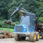 Rottne F13 forwarder