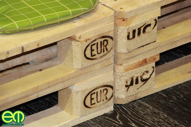 EUR raklapok