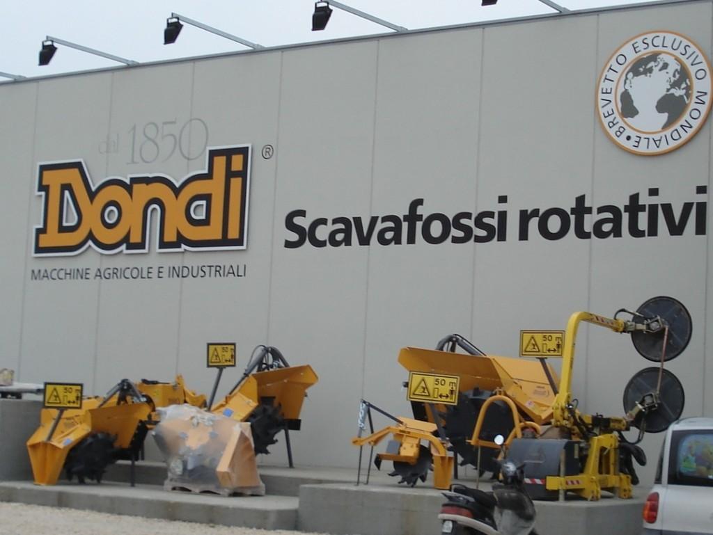 A Dondi gyár központja