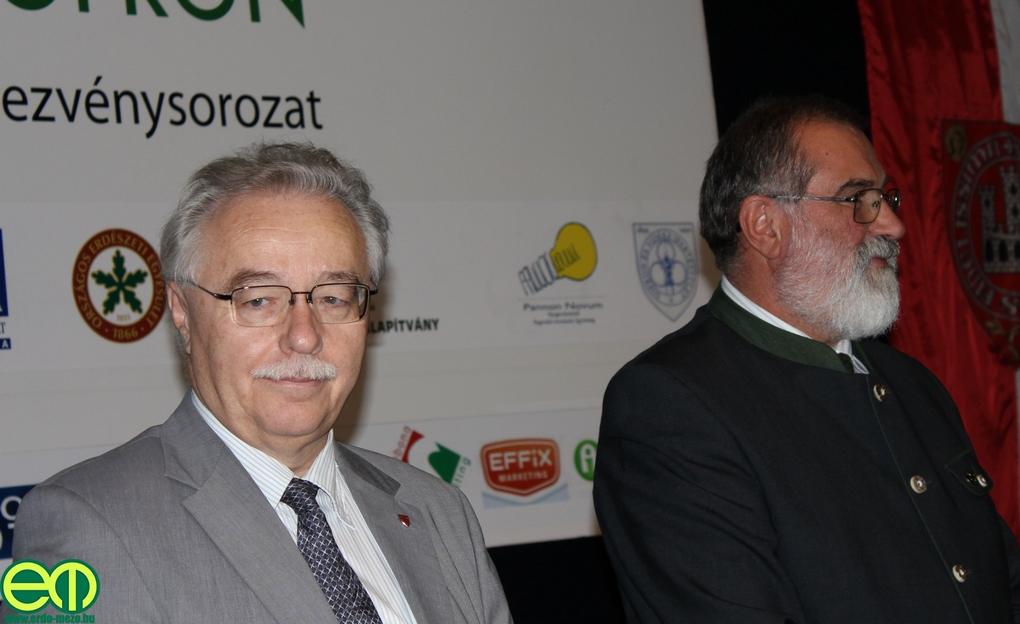 Dr. Fodor Tamás és Prof. Dr. Faragó Sándor