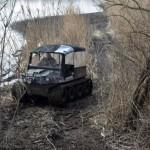 Különleges terepjárót alkalmaznak a Tisza-tónál