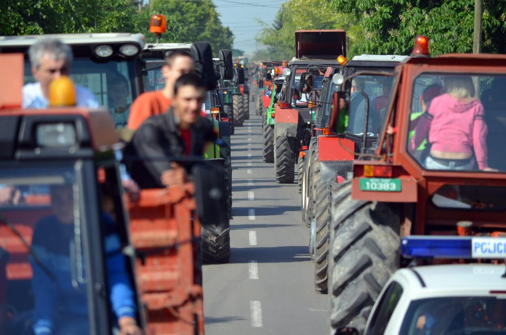 Traktorfesztivál a Vajdaságban