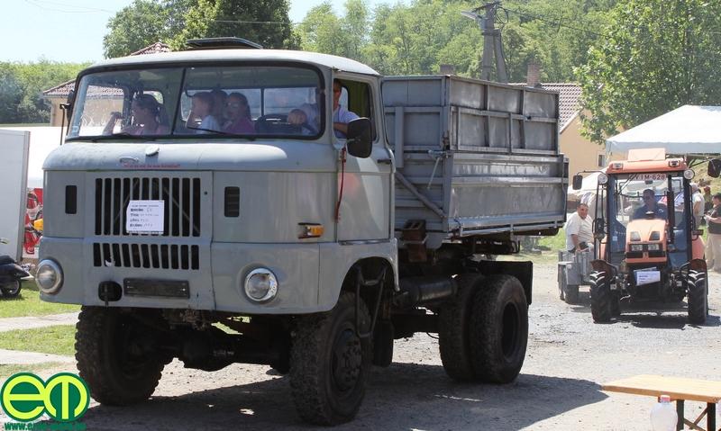 AZ elmaradhatatlan IFA is ott volt a veterán traktortalálkozn