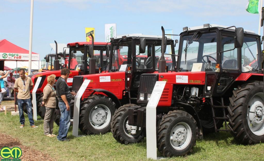 MTZ traktor nélkül nincsen mezőgazdasági kiállítás