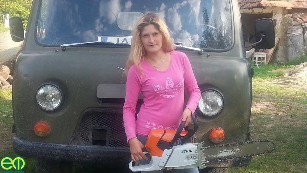 Gammer János felesége, az UAZ és a STIHL motorfűrész