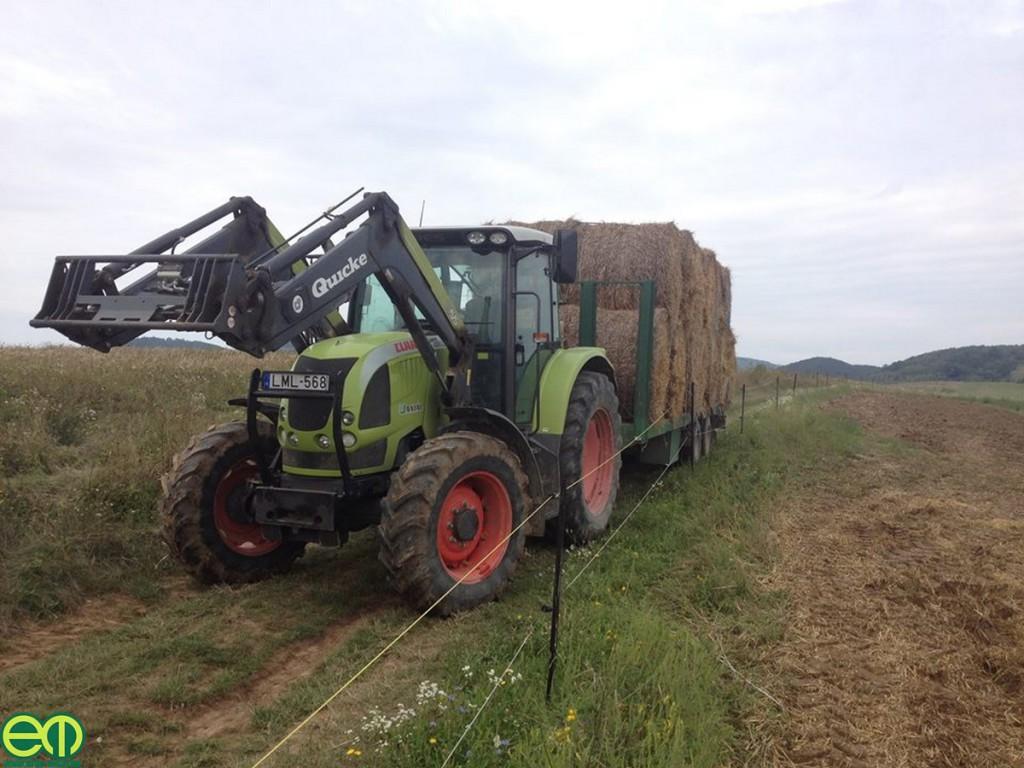 Megyer Gergely képe a Bükkből - Claas Ares traktor