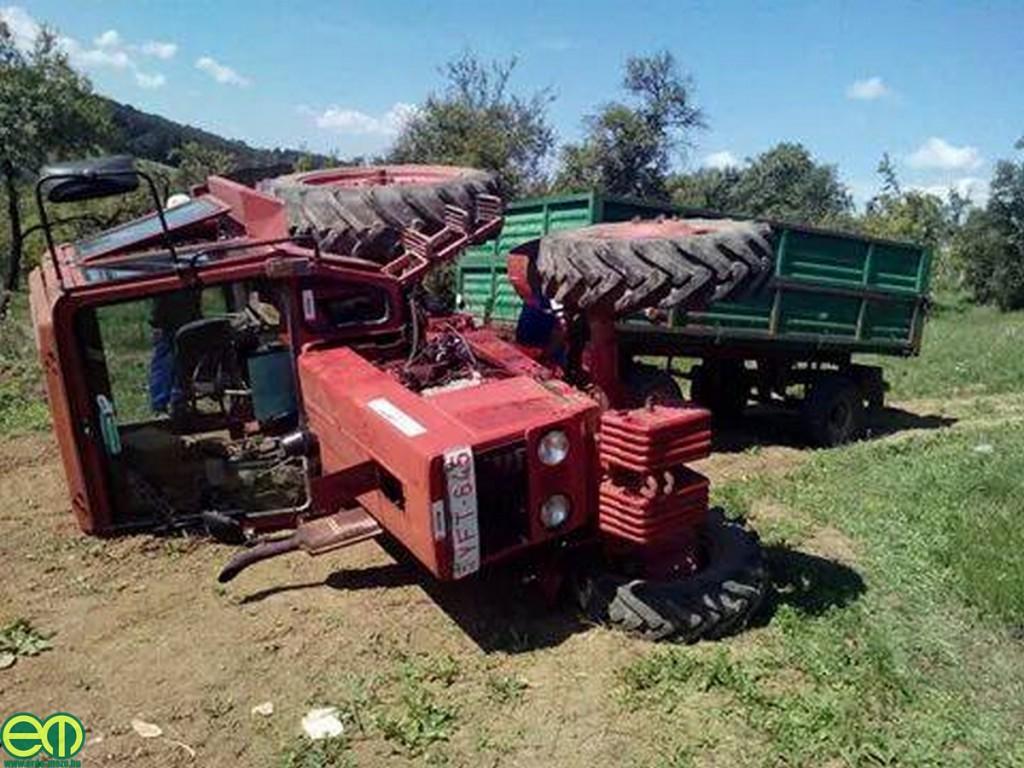 Borulás MTZ traktorral - Máté Lajos fotója