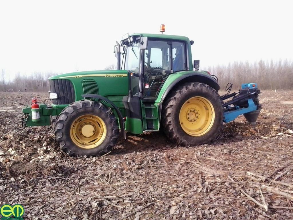 Miklós Ferenc képe - John Deere traktor