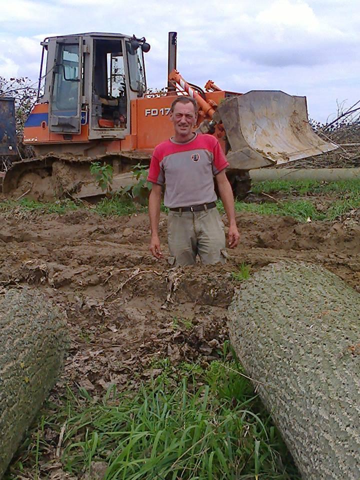 Tóth István is nehéz körülmények között dolgozott