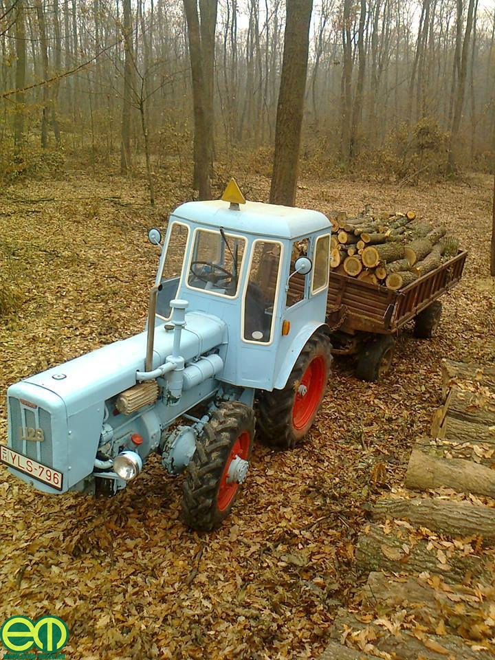 Gulybán Tamás és a Dutra traktor