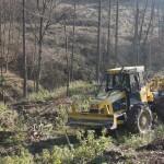 Hittner EcoTrac 120 erdészeti közelítő