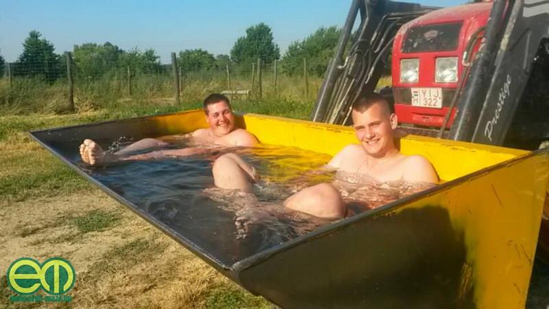 Így ki lehet bírni a nyarat... - Béres Bence fotója