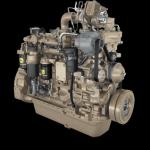 2. ábra: Korszerű feltöltéses, iTier 4 besorolású dízelmotor (www.deere.com )