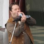 Erdélyi Tamás világbajnok szarvasbőgő Magyarországról érkezett Székelyudvarhelyre