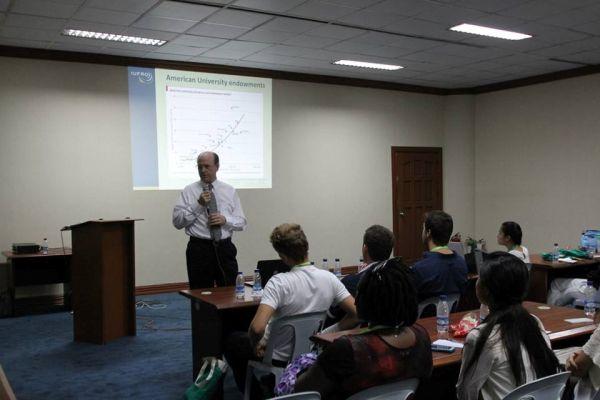 Dr. Michael Wingfield előadása