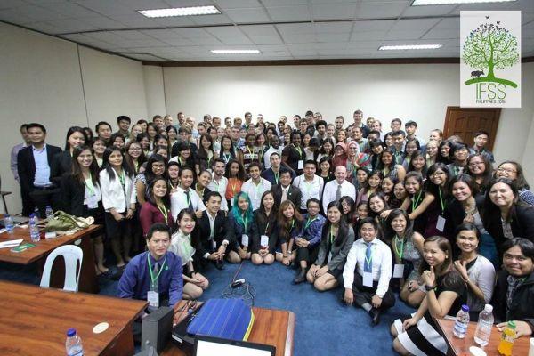 IFSS résztvevők a 26. általános közgyűlésen