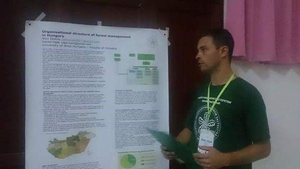 Poszter-prezentáció Magyarország erdészeti igazgatásáról