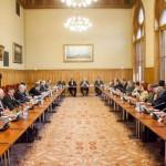 Egyeztetés a 2021-es magyarországi Vadászati Világkiállításról (2016. január 29., fotó: OMVK | Földvári Attila)