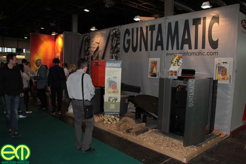 A megújuló energiákkal foglalkozó RENEO kiállítás egyik kiállítójaként a Guntamatic is bemutatja kazánjait