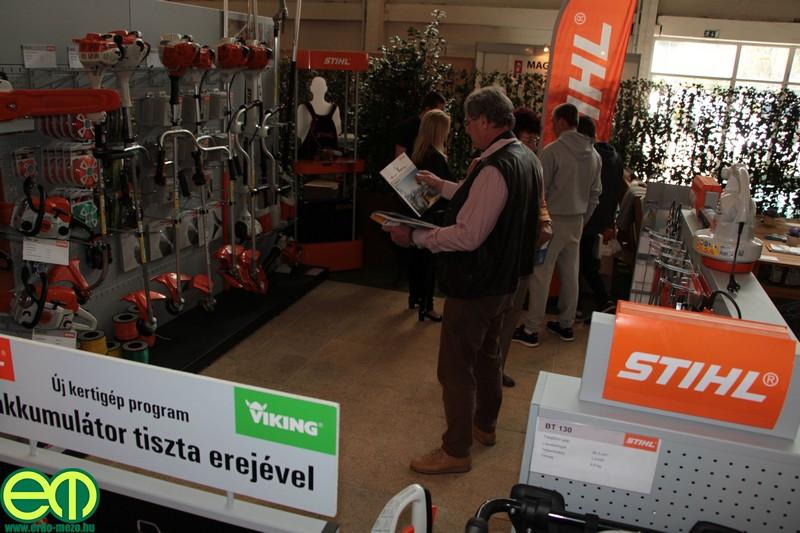 Rendkívül széles választékkal várja az érdeklődőket a STIHL a ConstrumaKert kiállításon