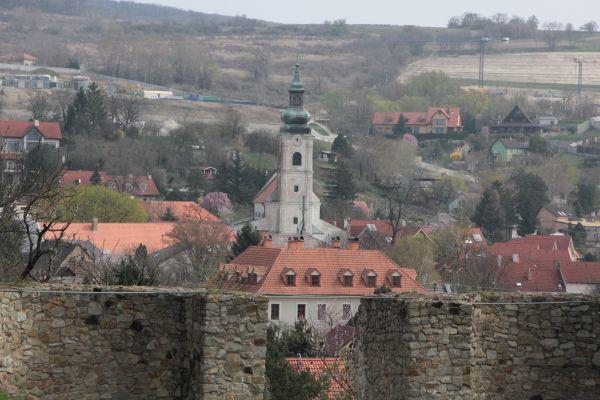 Dévény telploma a várból