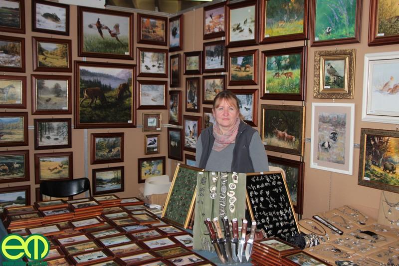 Csodálatos festmények a Muray Galéria standján