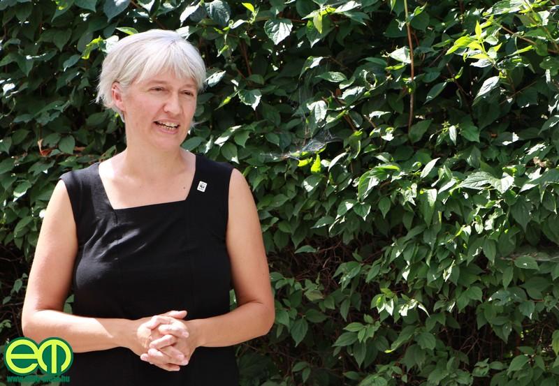 Sipos Katalin, a WWF Magyarország igazgatója