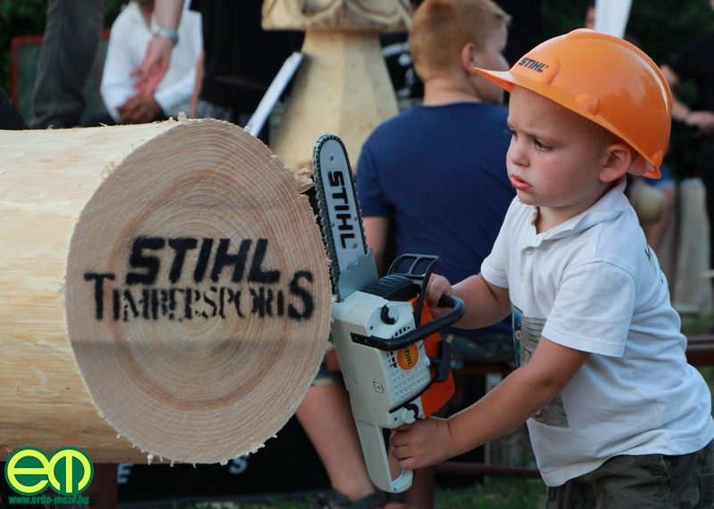 A legfiatalabb STIHL Timbersports rajongó