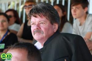 Kocsis Mihály, a Vértesi Erdő Zrt. vezérigazgatója a Bábolnai Gazdanapok megnyitóján