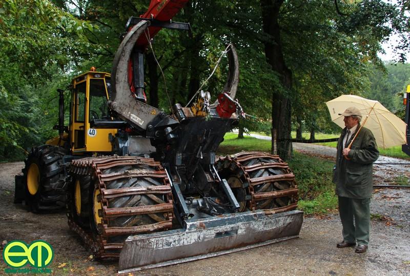 Rottne erdészeti gép