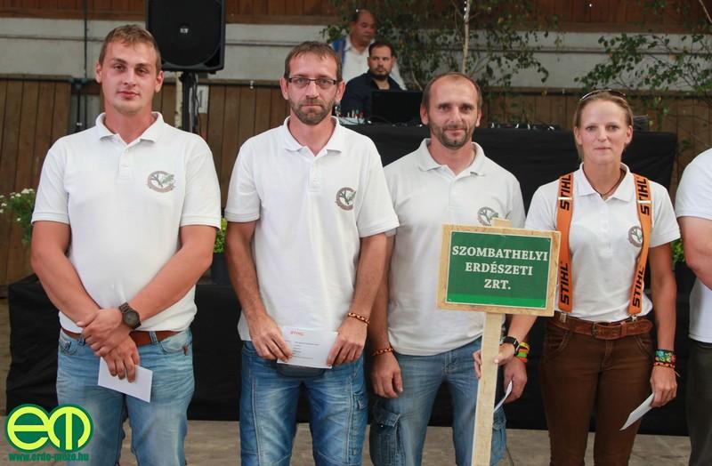 I. helyezett: Szombathelyi Erdészeti Zrt.
