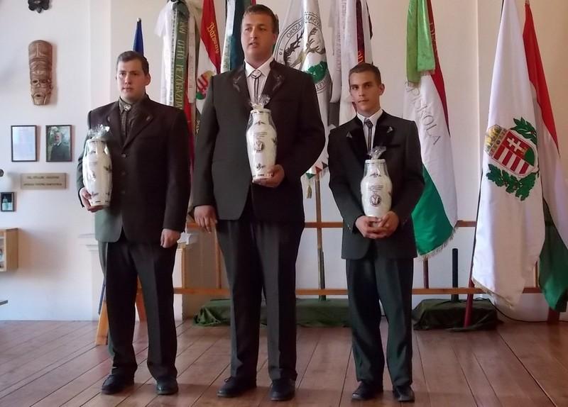 A győztes soproni csapat