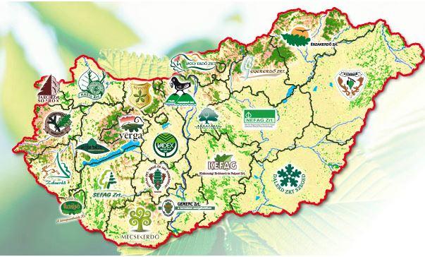 Forrás: Országos Erdészeti Egyesület - www.oee.hu