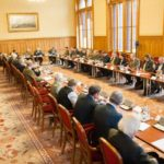 Egyeztetés a 2021-es, magyarországi Vadászati Világkiállításról (Parlament, 2017. január 30., fotó: OMVK | Földvári Attila)
