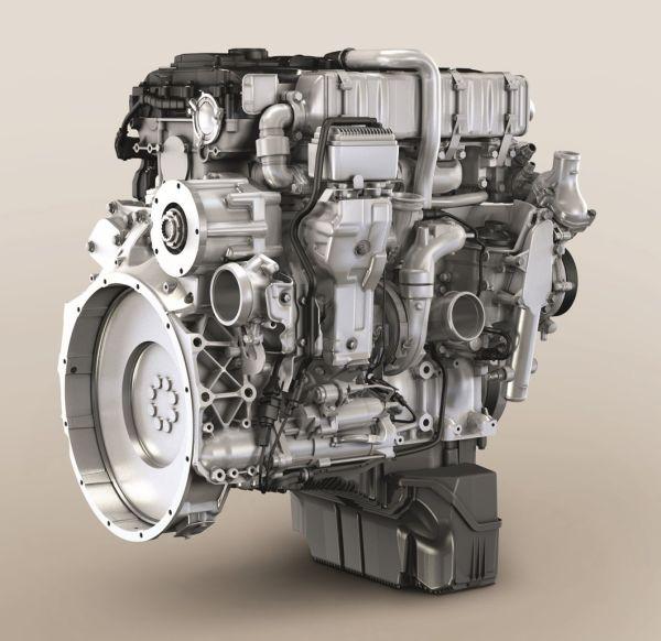 2. kép: MTU 4R 1000 sorozat jelzésű 100 kW (134 LE) teljesítményű dízelmotor