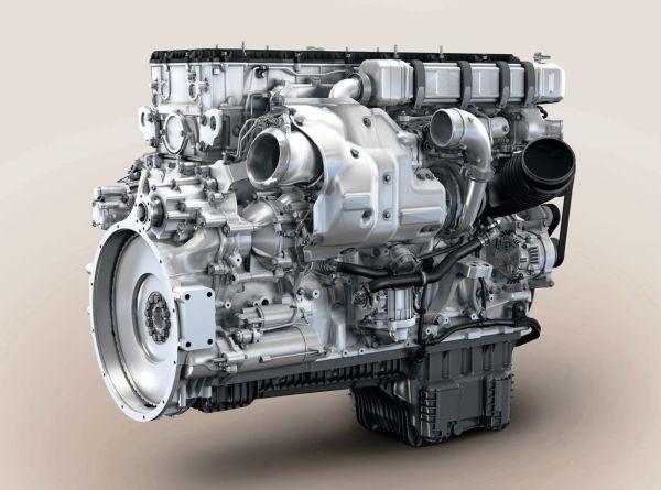 4. kép: MTU 6R 1500 sorozat jelzésű turbocompound dízelmotor
