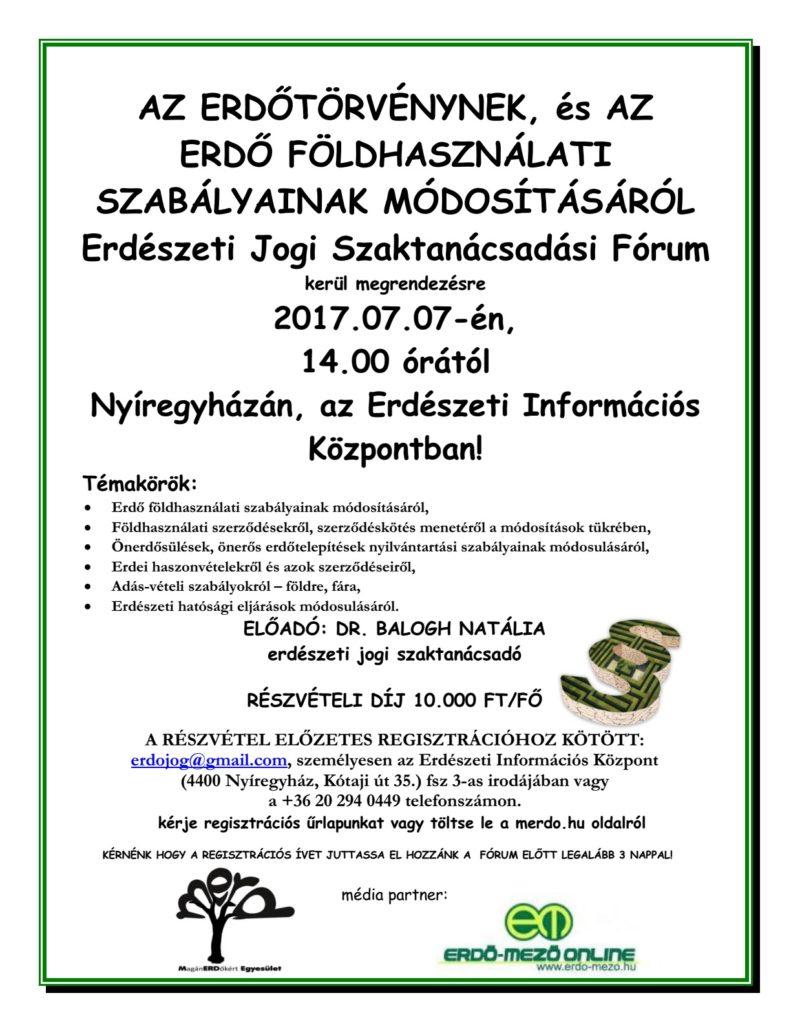 erdészeti jogi fórum.2017.07.07.