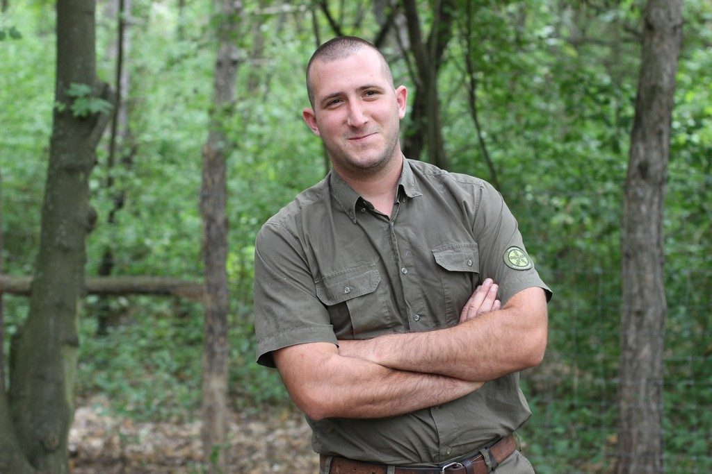 Nánási Zsolt István kerületvezető erdész, ha őt küldik, jövőre dobogós helyet szeretne elérni a versenyen - Fotó: Szanyi-Nagy Judit, feol.hu