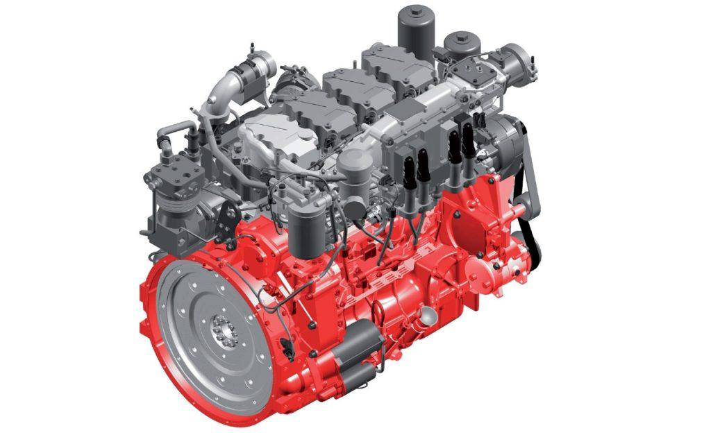 Deutz TCD 9.0 L4 típusjelzésű dízelmotor (Forrás: www.deutz.com)