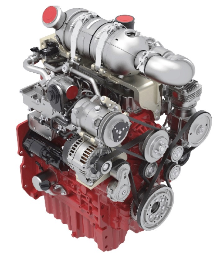 Deutz TCD 3.6 L4 típusjelzésű dízelmotor