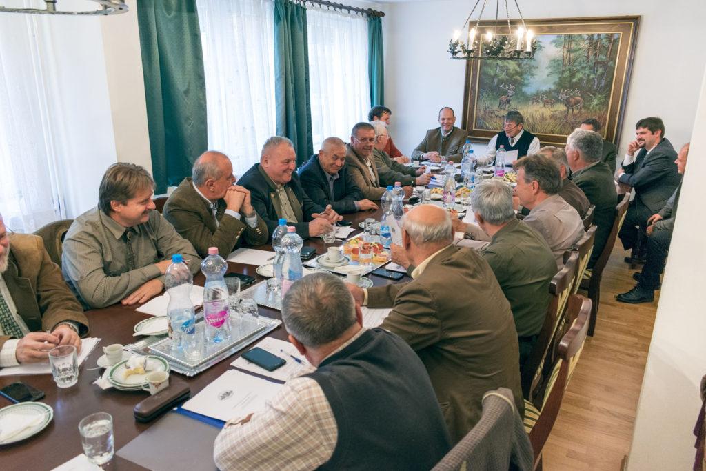 Az OMVK Elnökségének ülése (2017. november 17., fotó: OMVK   Földvári Attila)