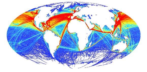 KÉP A kereskedelmi célú hajózás útvonalai www.origo.hu