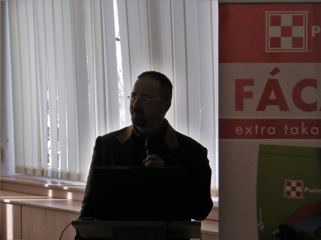 Tauber István hivatásos vadász, vadászkutya-mestervezető - Fotó: Perjési Nándor