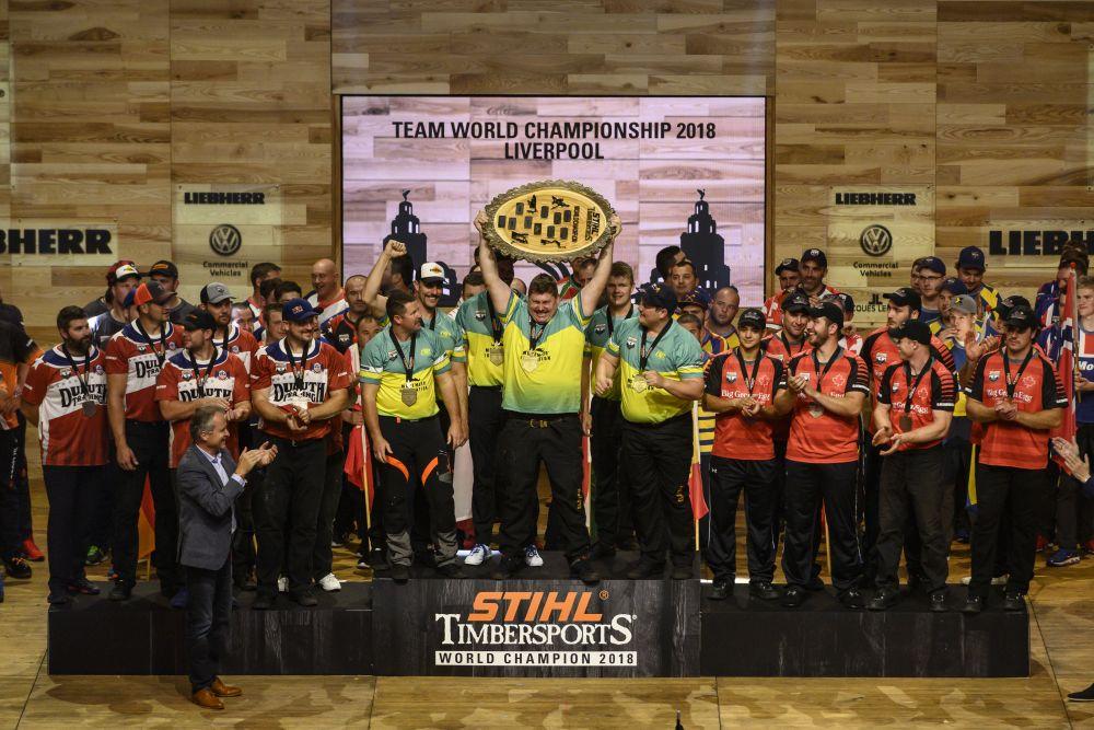 Team United States, Team Australia, Team Canada