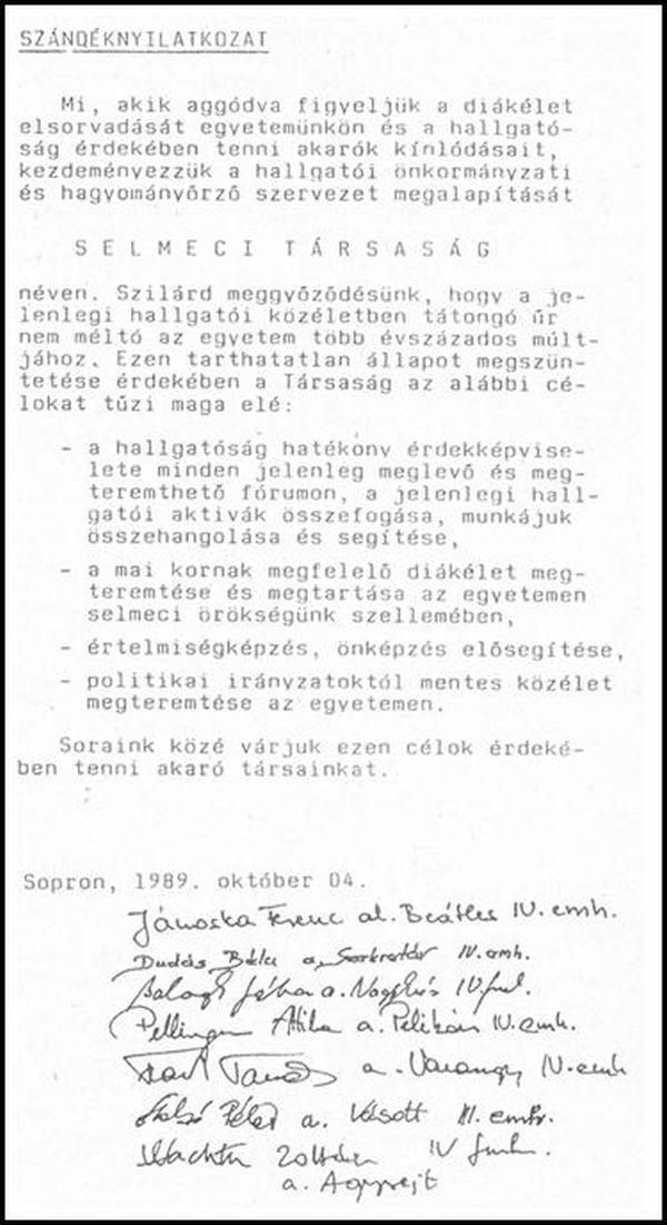 selmeci_tarsasag_nyilatkozat