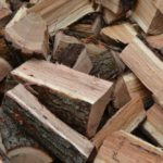 Száraz hasított tűzifa