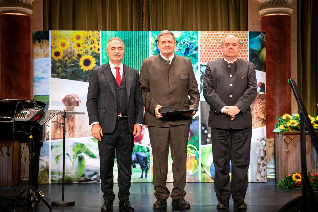 Guzsik Alfréd az Ipoly Erdő Zrt. fővadásza (Fotó: Fekete István, AM)